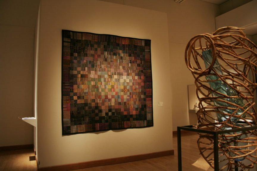 Randall Darwall, Handwoven Quilt; Flora Mace & Joey Kirkpatrick, By Means and Measure, 2002 at the Arkansas Arts Center