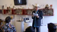 Kit Carson talk at the Craft in America Center