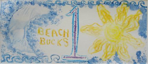 Beach Bucks - One Beach Buck