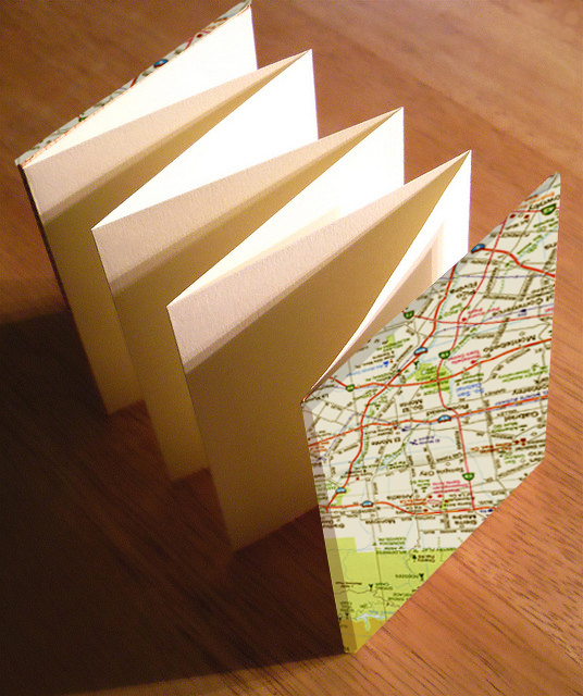 Book Cover Craft Maps : Craft in america with us simple book binding