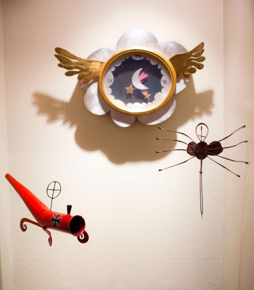 Garry Knox Bennett, Winged Clock, Red Baron, Roach clips