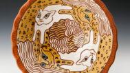 Clary Illian, Bowl. Courtesy of the Cedar Rapids Museum of Art, Tanya Schulte/AKAR Gallery photograph