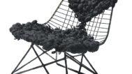 Tanya Aguiniga, Eames Wire Chair, 2008. David San Miguel photograph
