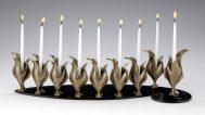 Aimee Golant, Life Source Bronze Plate Candles