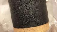 Ben Medansky, Black Braille Cup, ceramic
