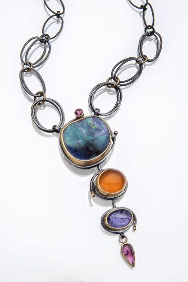 Sydney Lynch, Lagoon Cascade Necklace
