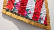 Consuelo Jimenez Underwood, Maize Flag Detail