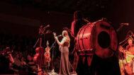 Rhiannon Giddens performing
