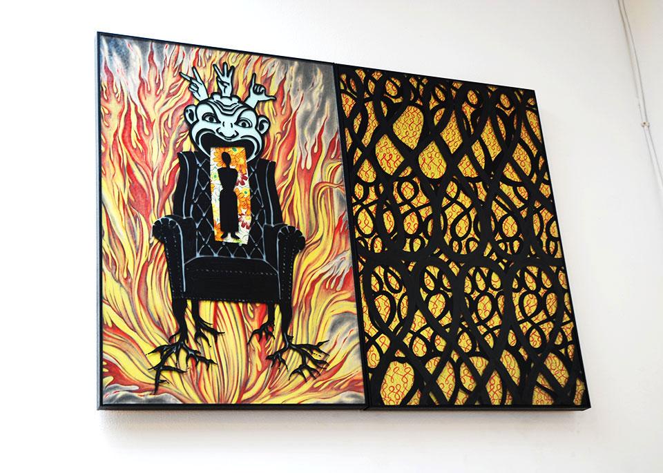 Susan Stinsmuehlen-Amend, A Man's Chair, 2003