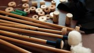 JGPercussion timpani mallets. Joseph Pereira at the timpani. Mark Markley photograph