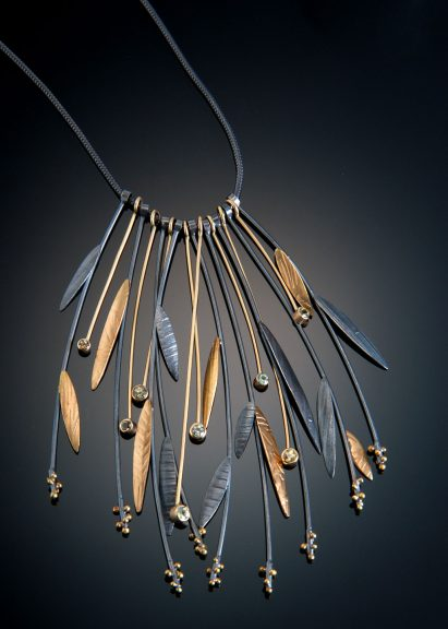 Sydney Lynch, Prairie Grass Necklace, 2007. Allan Jackson photograph