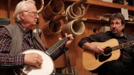 Tony Ellis with his son William L. Ellis on guitar