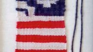 Consuelo Jimenez Underwood, Miniature USA Flag, 2009