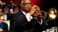 Scotty Barnhart, Director of the Count Basie Orchestra. Stephen Butler photograph
