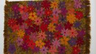 Gere Kavanaugh, Flowers Rug, c.1965. Jay Oligny photograph