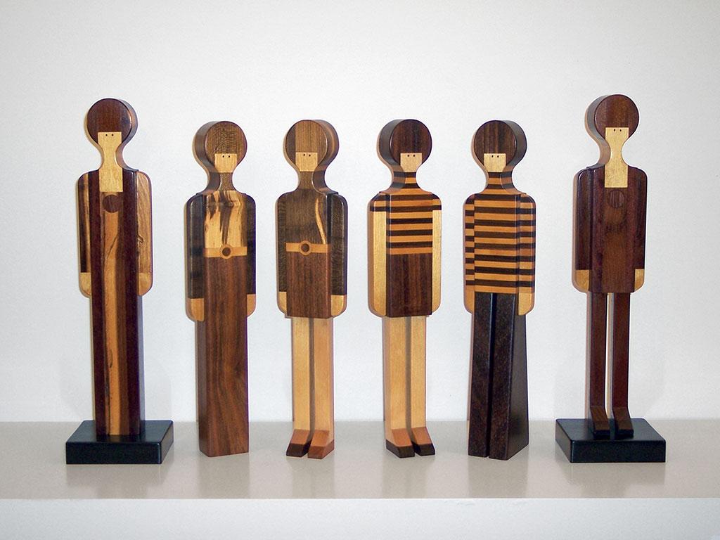 Pamela Weir-Quiton, Pamela Girls (set of 6), 1965-1967