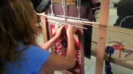 Weaving student