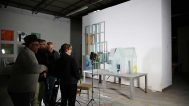 Filming Statom's glass house