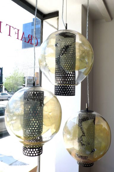 Julie Conway, Galaxia Pendant Cluster with Canopy, 2015