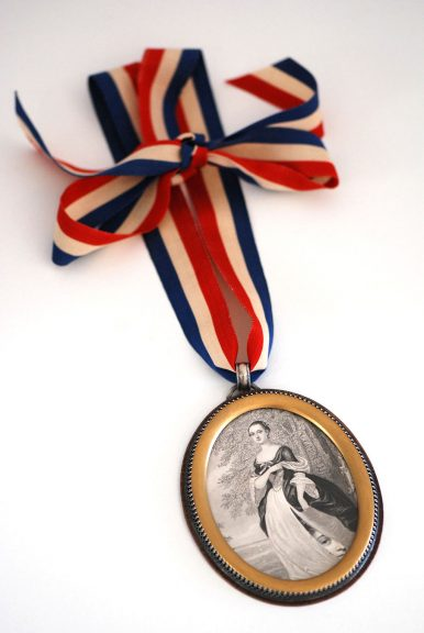Roberta and Dave Williamson, Secrets…The First First Lady Pendant, 2016
