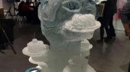 Sculpture by Hank Murta Adams at the Kaneko gallery