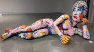 Sculpture by Viola Frey at the Kaneko gallery