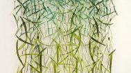 Joy Stocksdale, Green Curved Leaves II