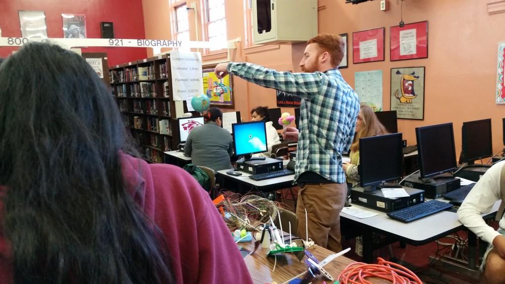 Jaydan Moore at Van Nuys High School