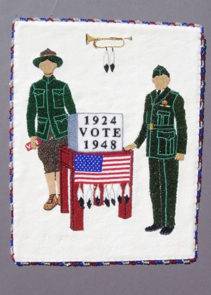 Teri Greeves, Sovereign Citizen, 2008, SERVICE, Craft in America