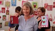 Valentines workshop with Corinna Cotsen