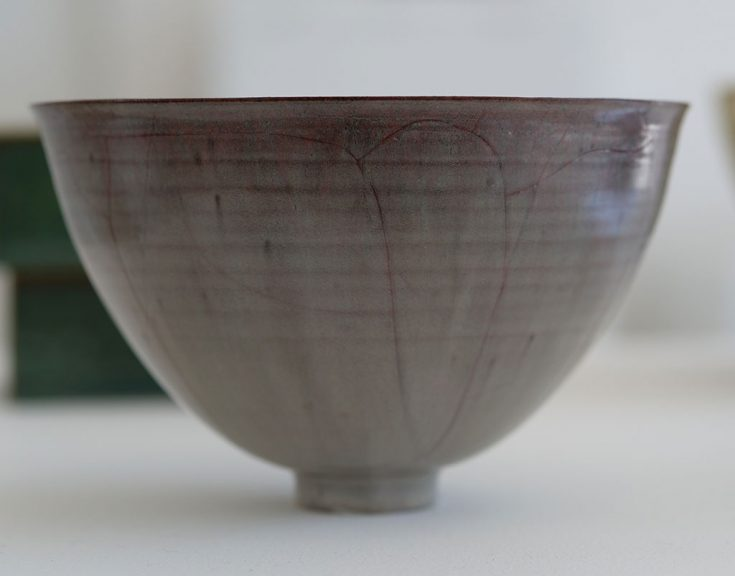 Gertrud and Otto Natzler, Bowl, 1942, California Visionaries: Seminal Studio Craft, Featuring Works from the Forrest L. Merrill Collection