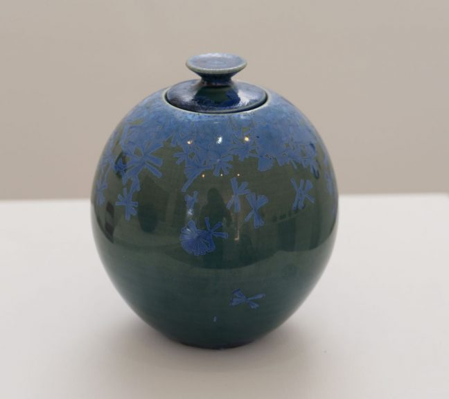 Dr. Herbert H. Sanders, Lidded vase, 1960s, California Visionaries: Seminal Studio Craft, Featuring Works from the Forrest L. Merrill Collection
