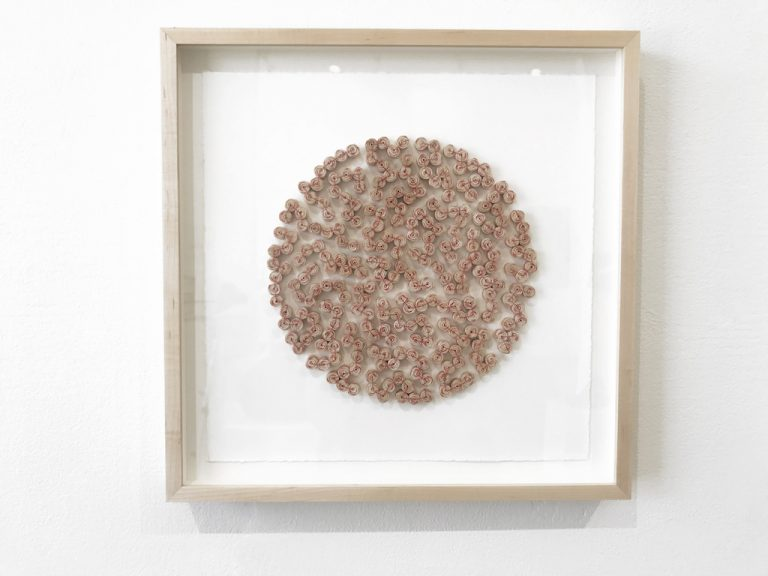 Karyl Sisson, Fissures I, 2019, Fissures & Connections, Craft in America