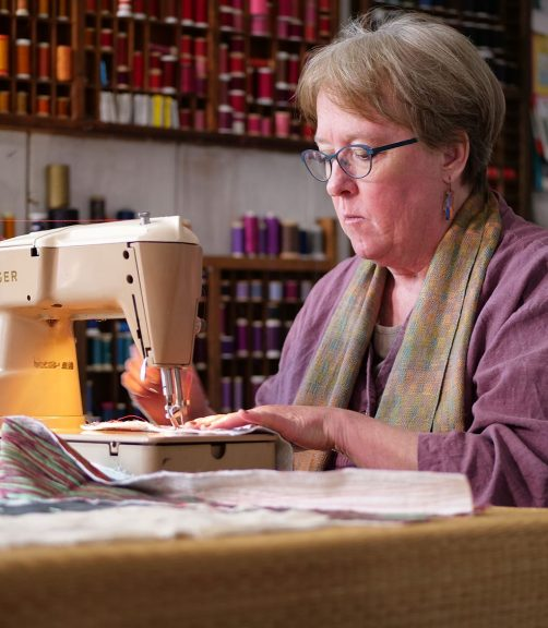 Judith Content sewing, quilts
