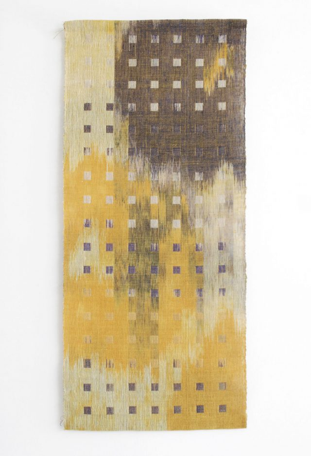 Marcia Weiss, Dialogue I, 2011. Material Meaning: A Living Legacy of Anni Albers, Craft in America