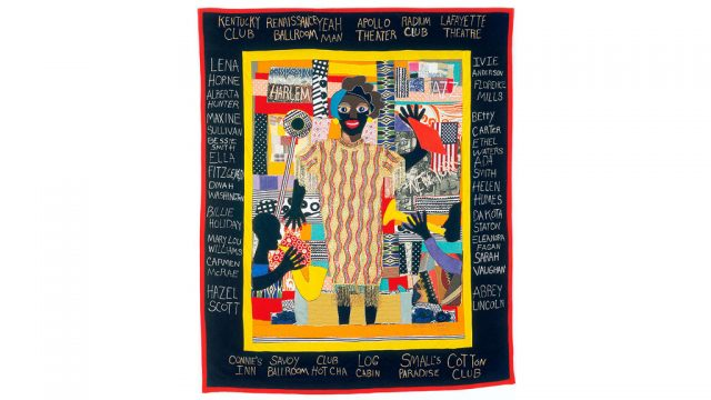 Michael A. Cummings, SATIN-DOLL 2004, QUILTS, Craft in America