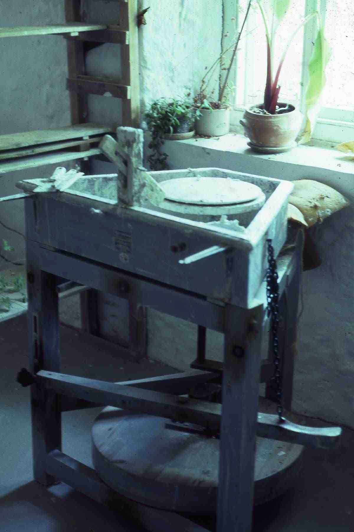 Potter's Wheel at Leach Pottery