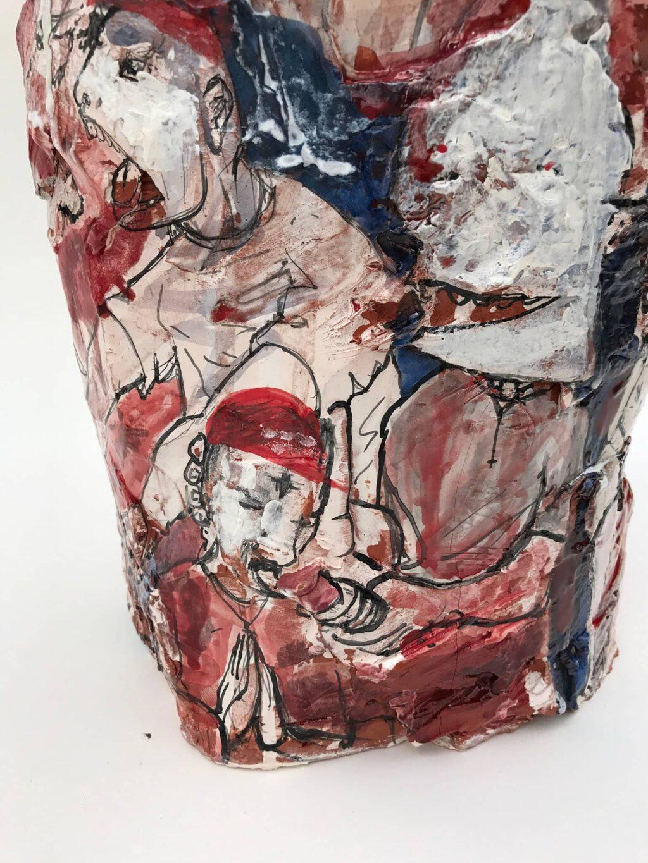 Gerardo Monterrubio, Pinches Borrachos, 2018 Craft in america Center Democracy 2020: Craft & the Election