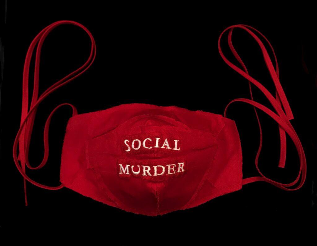 Kate Kretz, Social Murder, 2020 Craft in America Center Democracy 2020: Craft & the Election