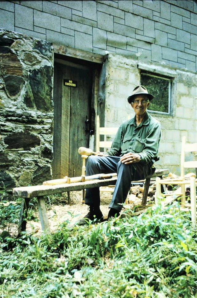 Islands in the Land Exhibition, Appalachia, North Carolina, Burnsville, Wiley Blevins