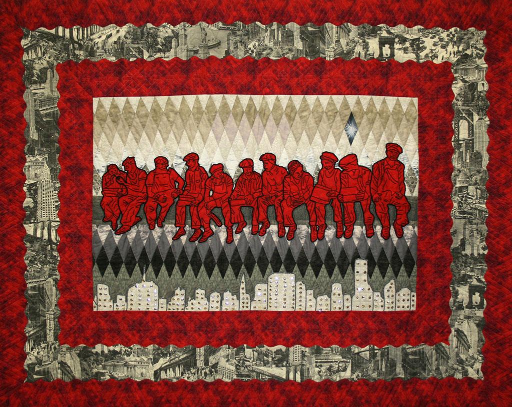 Carla Hemlock, Tribute to the Mohawk Ironworkers. Craft in America DEMOCRACY