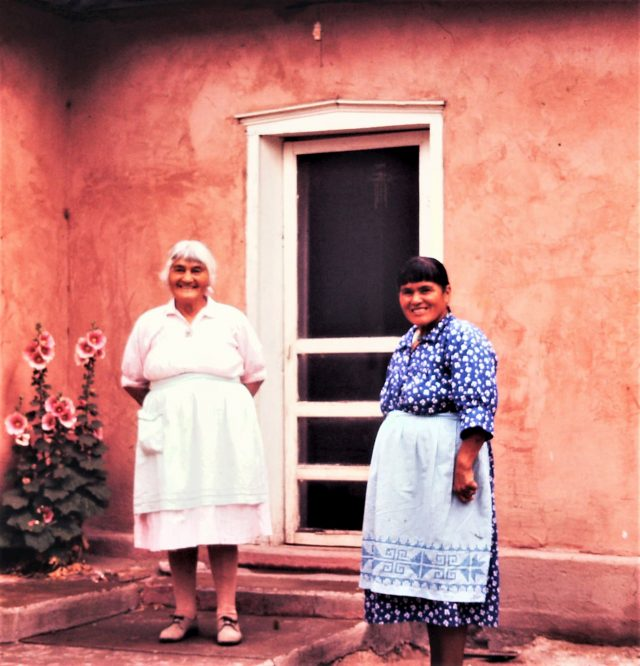 Islands in the Land Exhibition, The Rio Grande, Cochiti, Helen Cordero and Mother Caroline Pecos, Craft in America