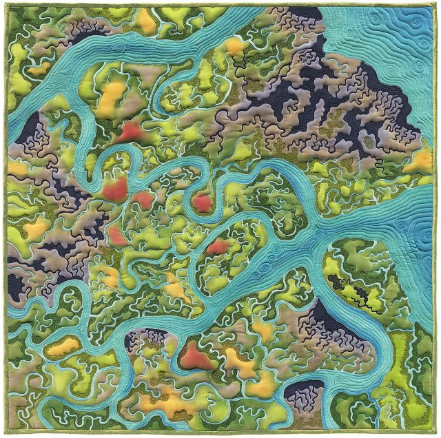 Linda Gass, Wetlands Dream Revisited, Craft in America